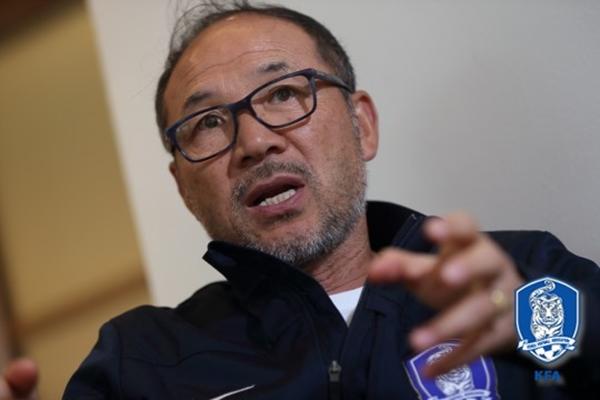 장외룡 감독은 중국에서 또 다시 '비상'할 수 있을까? ⓒ 대한축구협회 제공