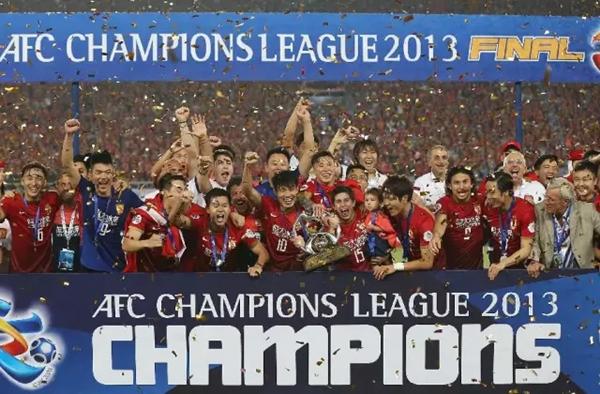 2013년 ACL 우승을 차지했던 광저우 헝다 ⓒ WKDx417