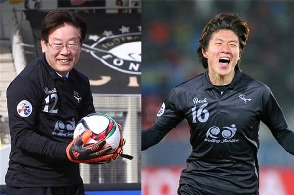 이재명 시장이 뒤에서 밀어준 성남FC는 활짝 웃었다 ⓒ 성남FC 제공