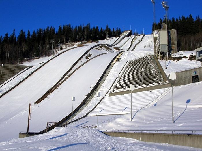 Lillehammer ski jump ⓒwikipedia